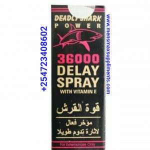 Deadly Shark Power 36000 Spray adult toys in kenya, best delay capsules in kenya , maxman capsules, Goodman, vigrx plus capsules, male libido boosters, viagra in kenya , blue tablets, hardrock tablets, rock hard tablets, dildos, vibrators in kenya ,libido tablets , stamina tablets in kenya, orgasm best tablets, ladies arousal tablets, women sexual urge , women drops, savage king tablets, marica, herbal viagra tablets, tiger king tablets, penis enlargement gels, delay sprays, delay wipes,BDSM KITs,Gspotkenya toys tablets