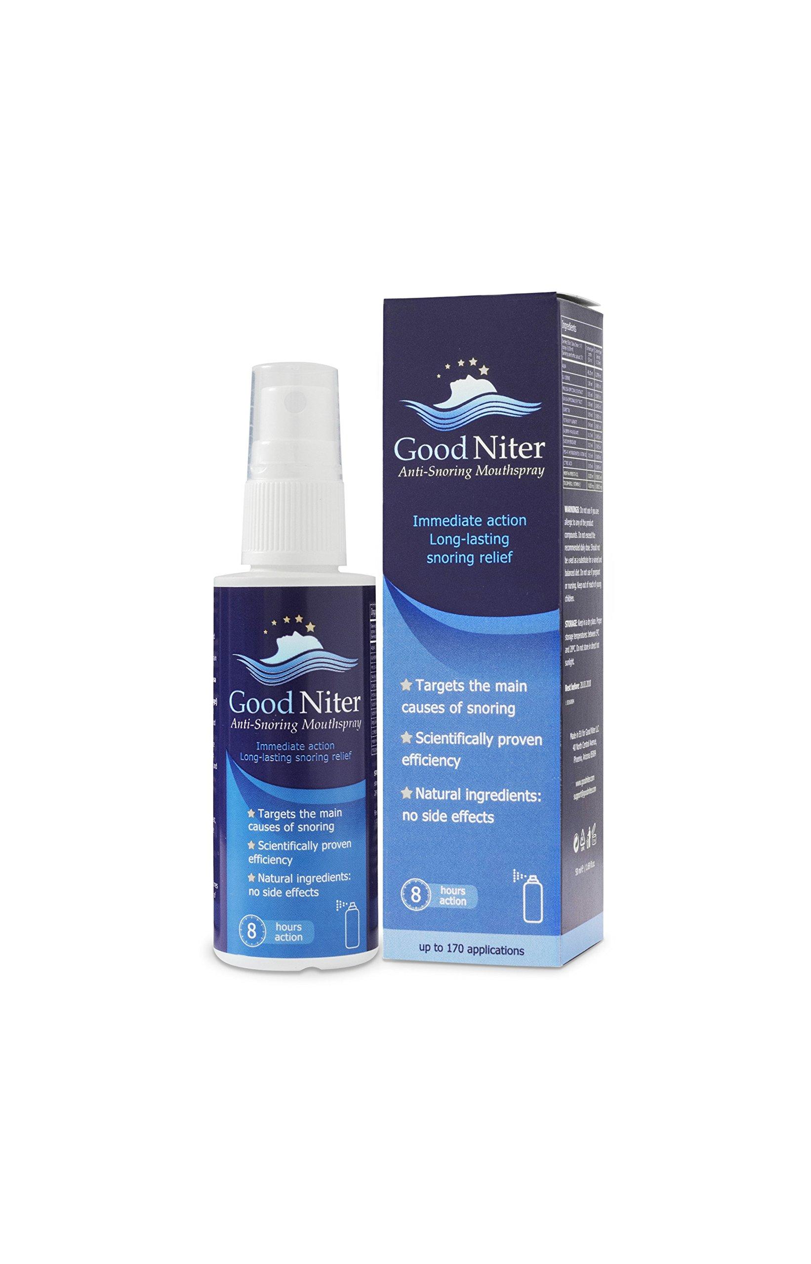 Goodniter Spray, Goodniter Anti-snoring Spray, Oral Health, Mouth Wash