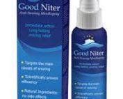 Goodniter anti snoring cream
