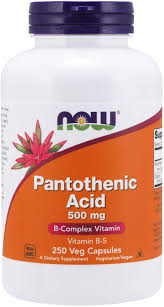 Vitamin B5 Pantothenic Acid Pills
