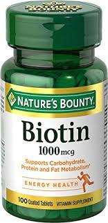 Biotin Pills Vitamin B7 Kenya