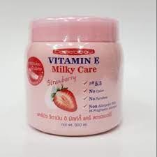 Carebeau Vitamin E Milky Care Strawberry Cream REVIEWS