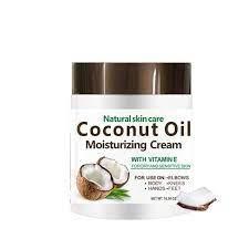 Natural Coconut Oil Moisturizing Cream with vitamin E