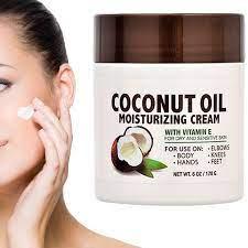 Coconut Oil Moisturizing Cream with Vitamin E